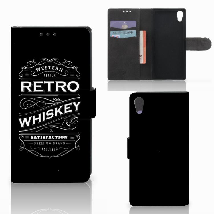 Sony Xperia XA1 Book Cover Whiskey
