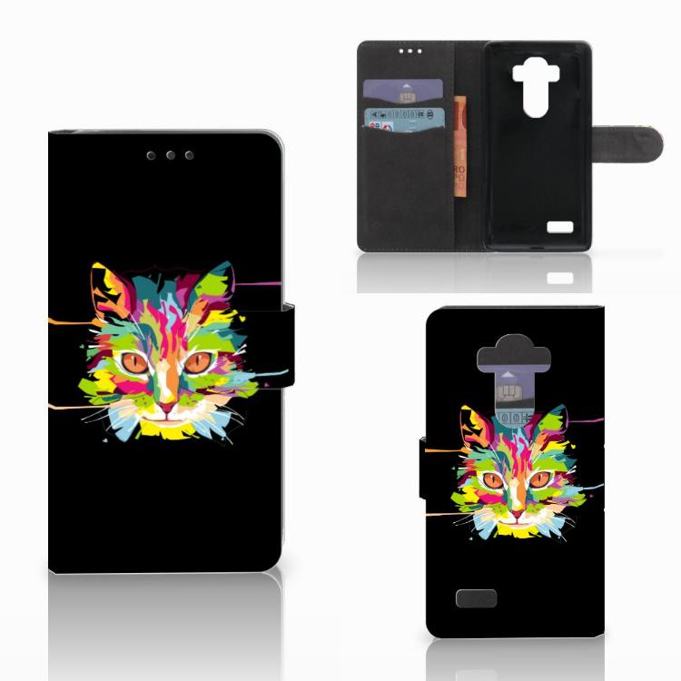 LG G4 Leuk Hoesje Cat Color