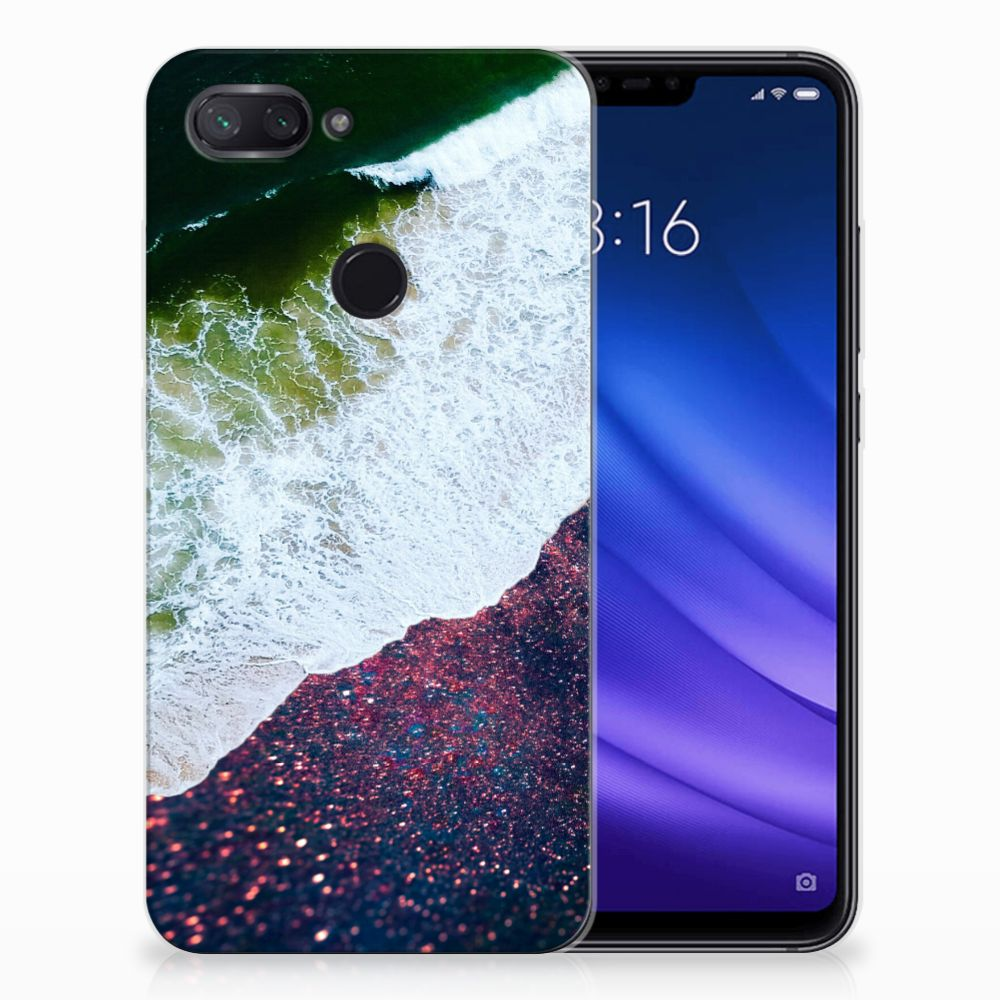 Xiaomi Mi 8 Lite TPU Hoesje Sea in Space