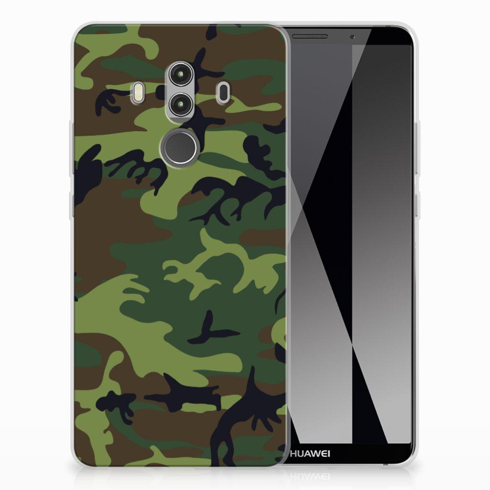 Huawei Mate 10 Pro TPU bumper Army Dark