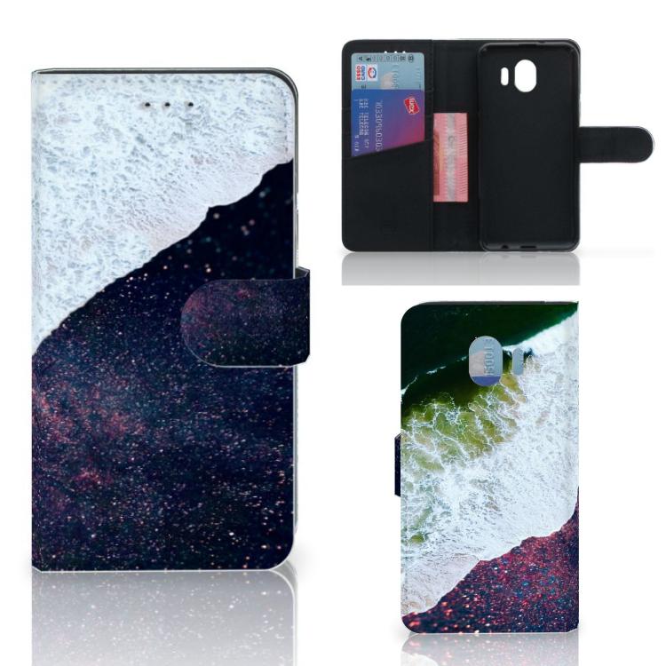 Samsung Galaxy J4 2018 Bookcase Sea in Space