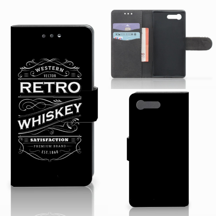 Sony Xperia X Compact Book Cover Whiskey
