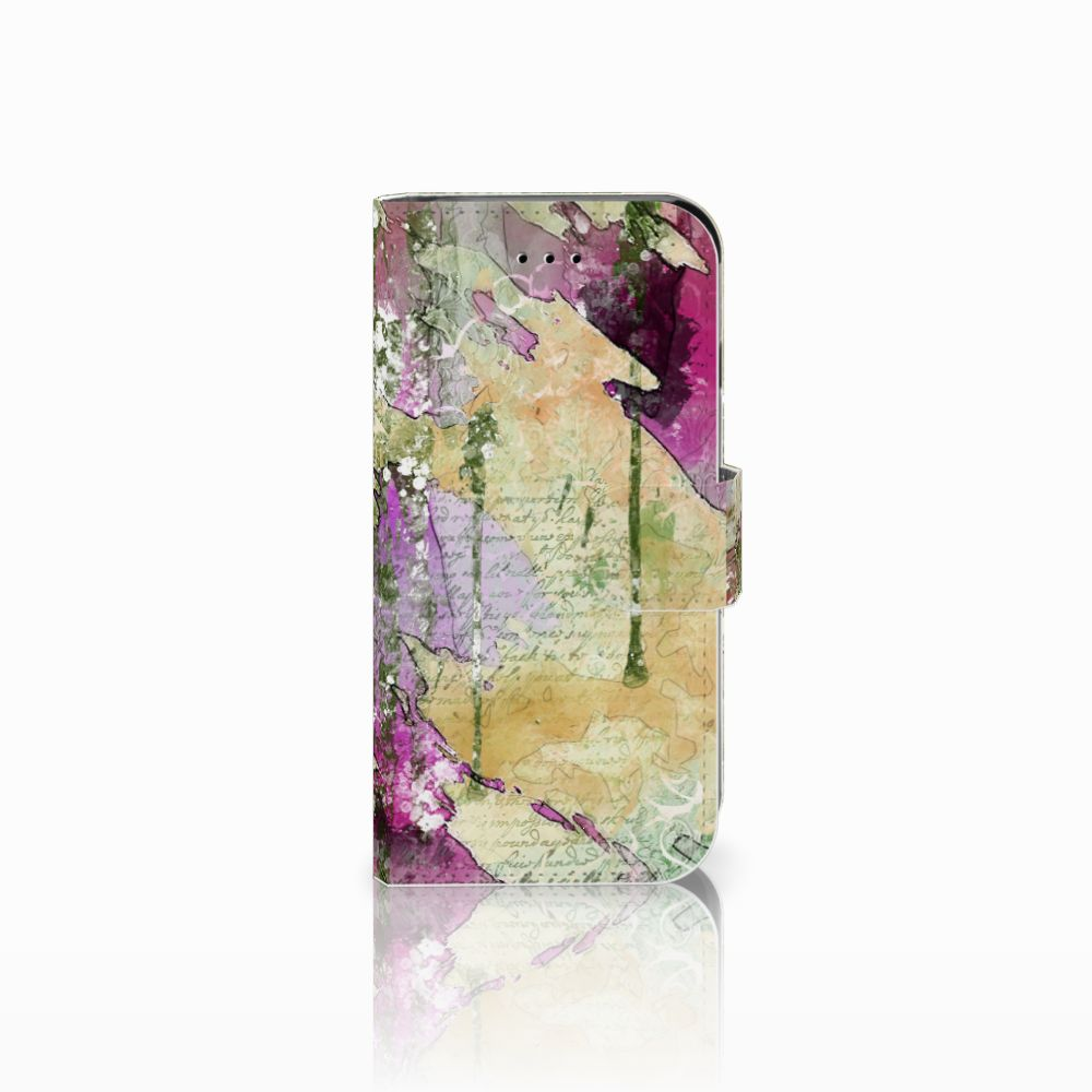 Apple iPhone 6 | 6s Uniek Boekhoesje Letter Painting