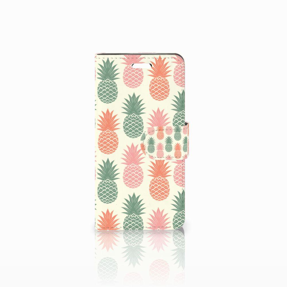 Acer Liquid Z330 Boekhoesje Design Ananas
