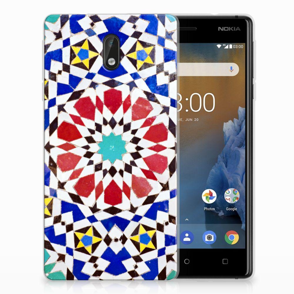 Nokia 3 TPU Hoesje Design Mozaïek