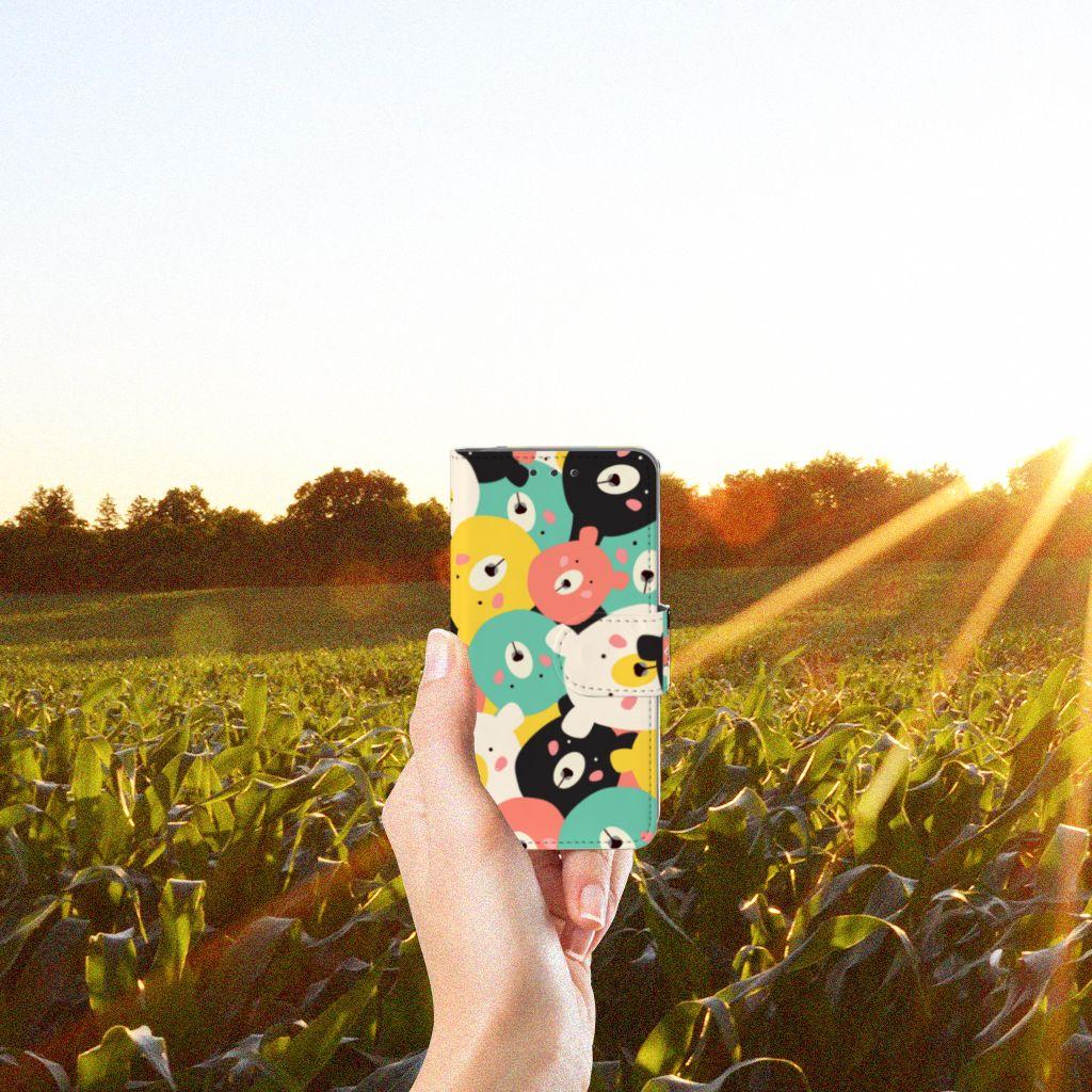 Samsung Galaxy A3 2015 Uniek Boekhoesje Bears