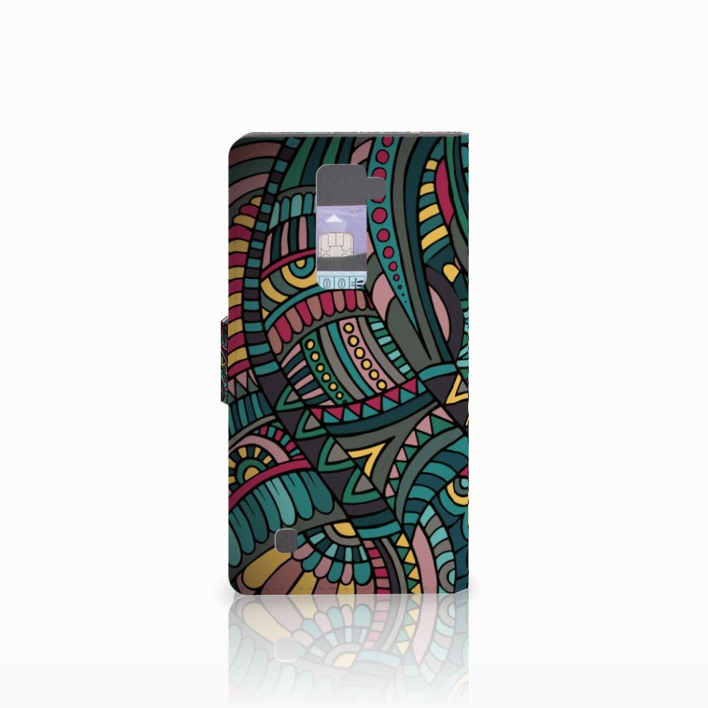 LG K10 2015 Telefoon Hoesje Aztec