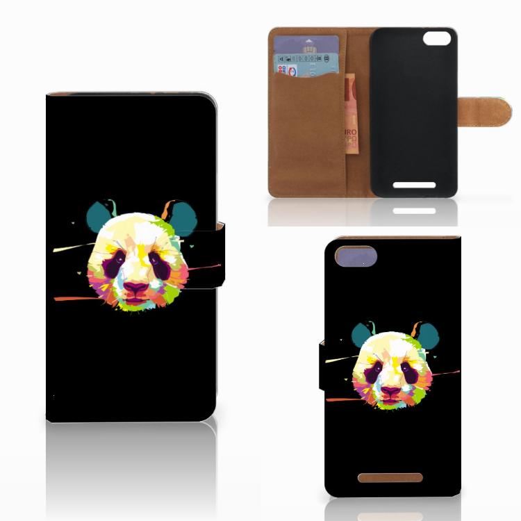 Wiko Lenny 3 Leuke Hoesje Panda Color