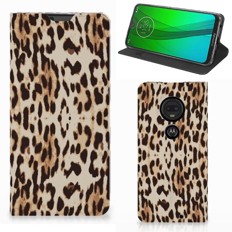 Motorola Moto G7 | G7 Plus Hoesje maken Leopard
