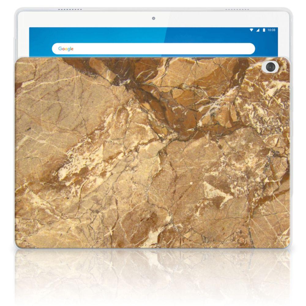 Lenovo Tab M10 Tablet Back Cover Marmer Creme
