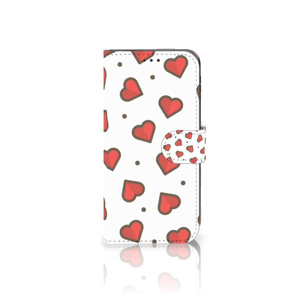 Samsung Galaxy J5 2017 Telefoon Hoesje Hearts