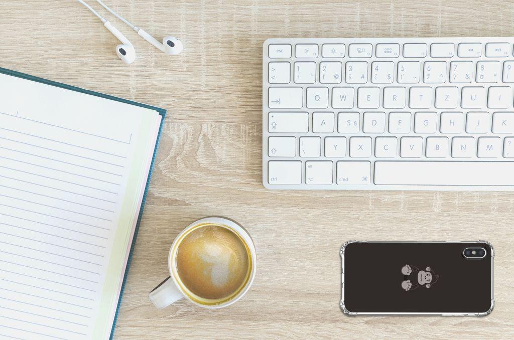 Apple iPhone X | Xs Stevig Bumper Hoesje Gorilla