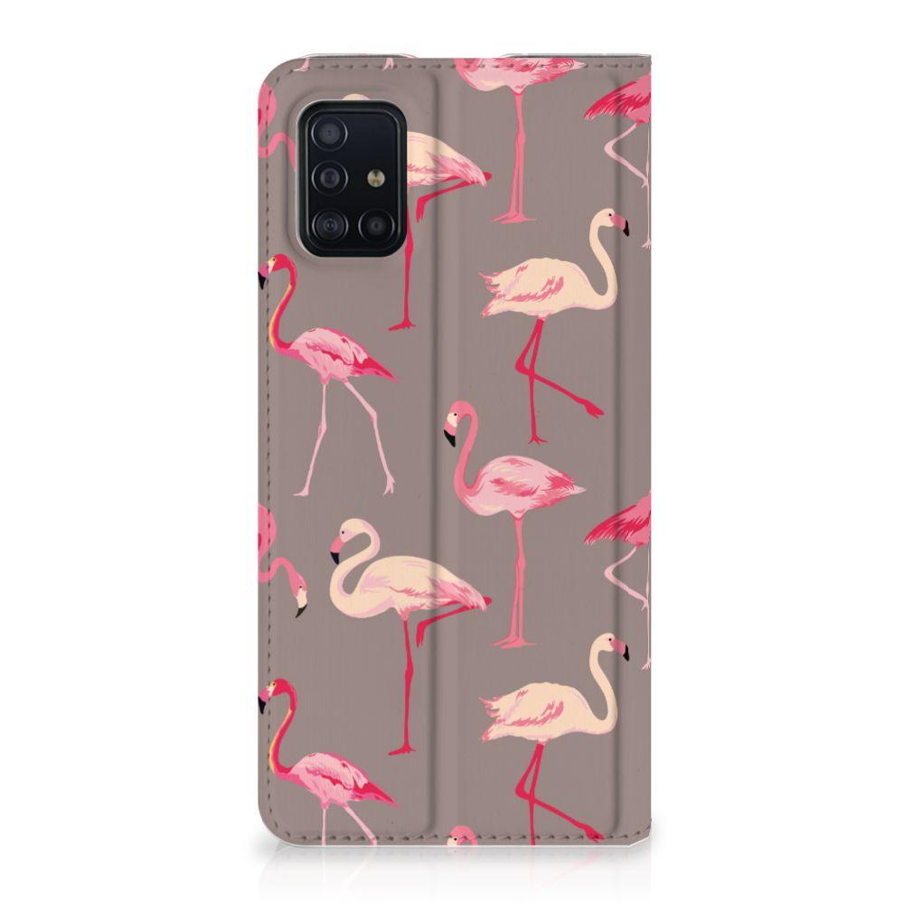 Samsung Galaxy A51 Hoesje maken Flamingo