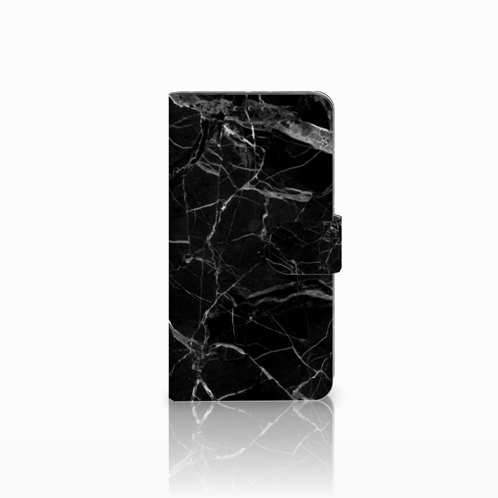 Huawei Honor 6X Boekhoesje Marmer Zwart