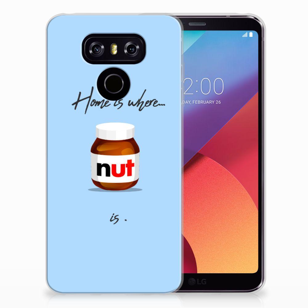 LG G6 Siliconen Case Nut Home