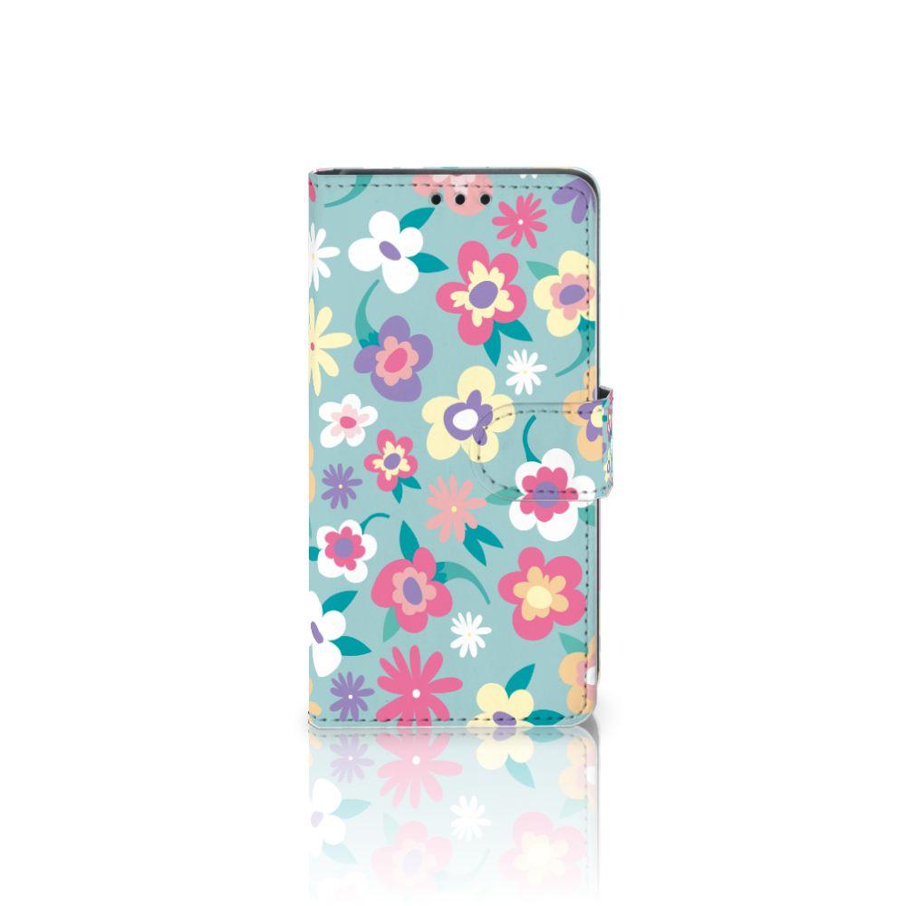 Sony Xperia Z5 | Z5 Dual Boekhoesje Design Flower Power