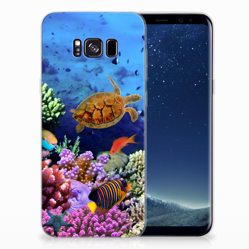 Samsung Galaxy S8 Plus TPU Hoesje Vissen