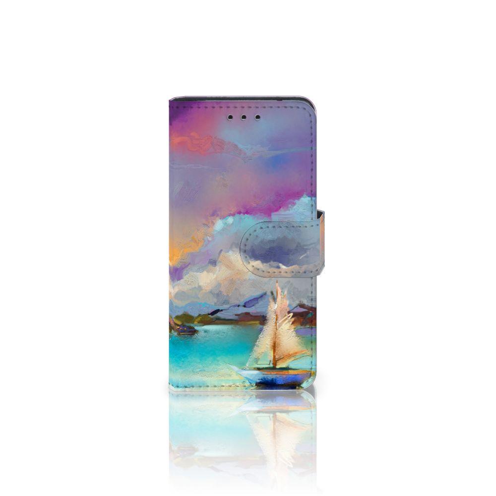 Samsung Galaxy S5 Mini Uniek Boekhoesje Boat
