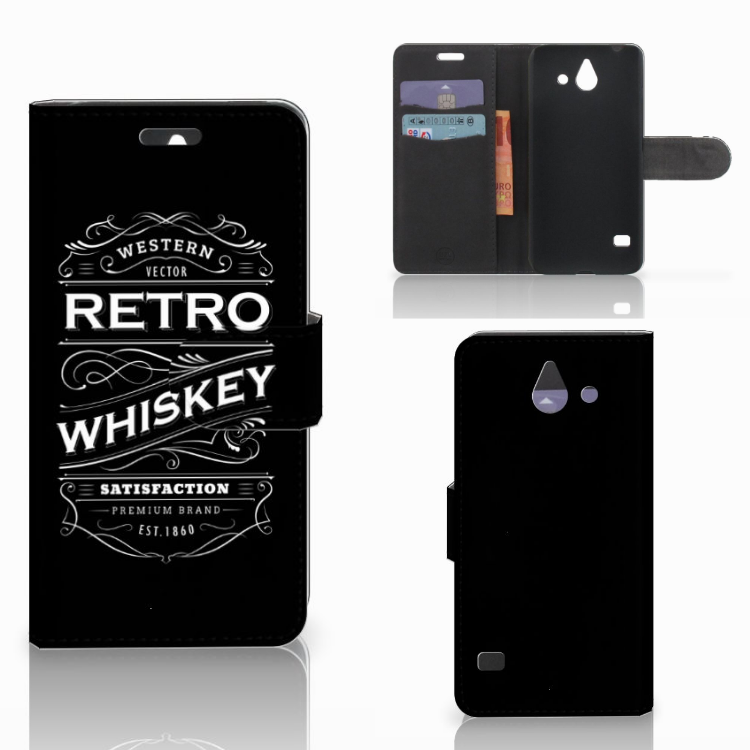 Huawei Ascend Y550 Book Cover Whiskey