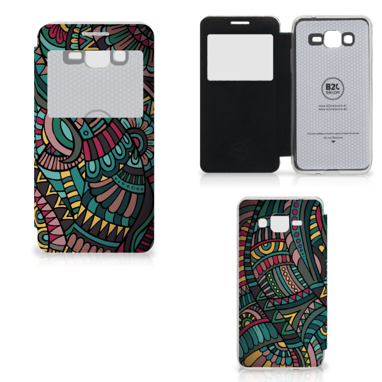 Samsung Galaxy Grand Prime Telefoon Hoesje Aztec