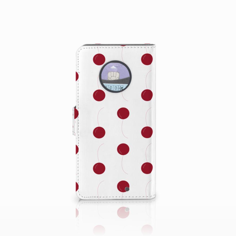 Motorola Moto X4 Book Cover Cherries
