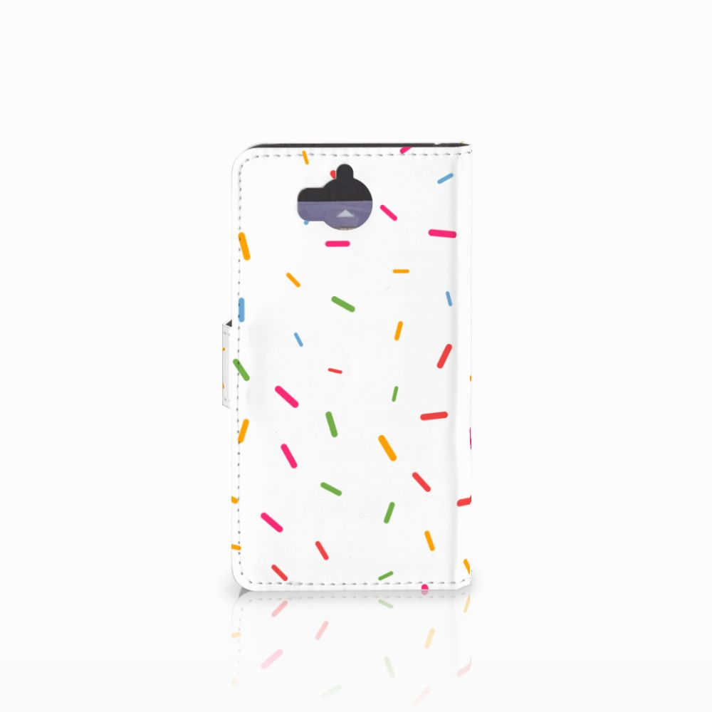 Huawei Y5 | Y6 2017 Book Cover Donut Roze