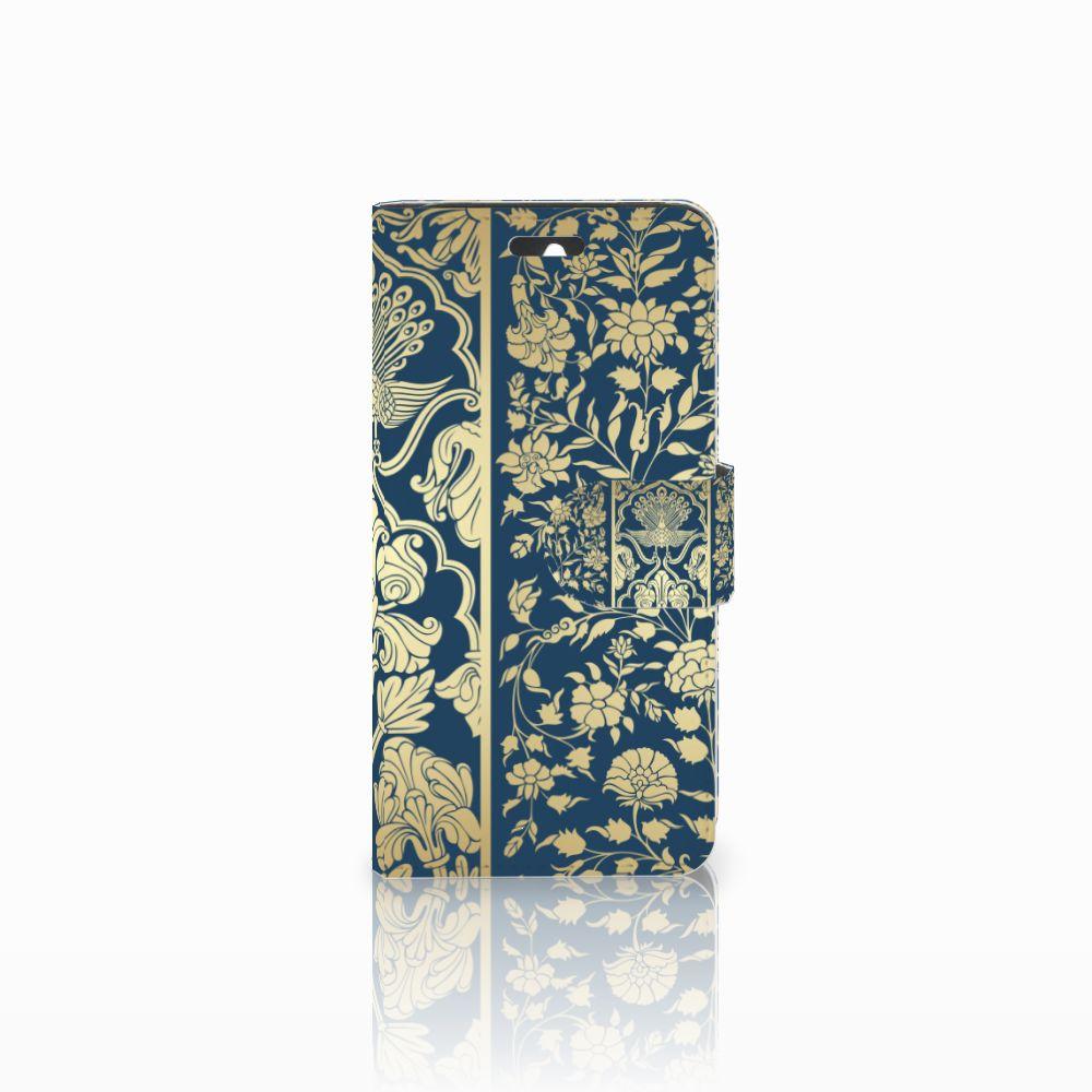 Huawei Ascend Y550 Boekhoesje Golden Flowers