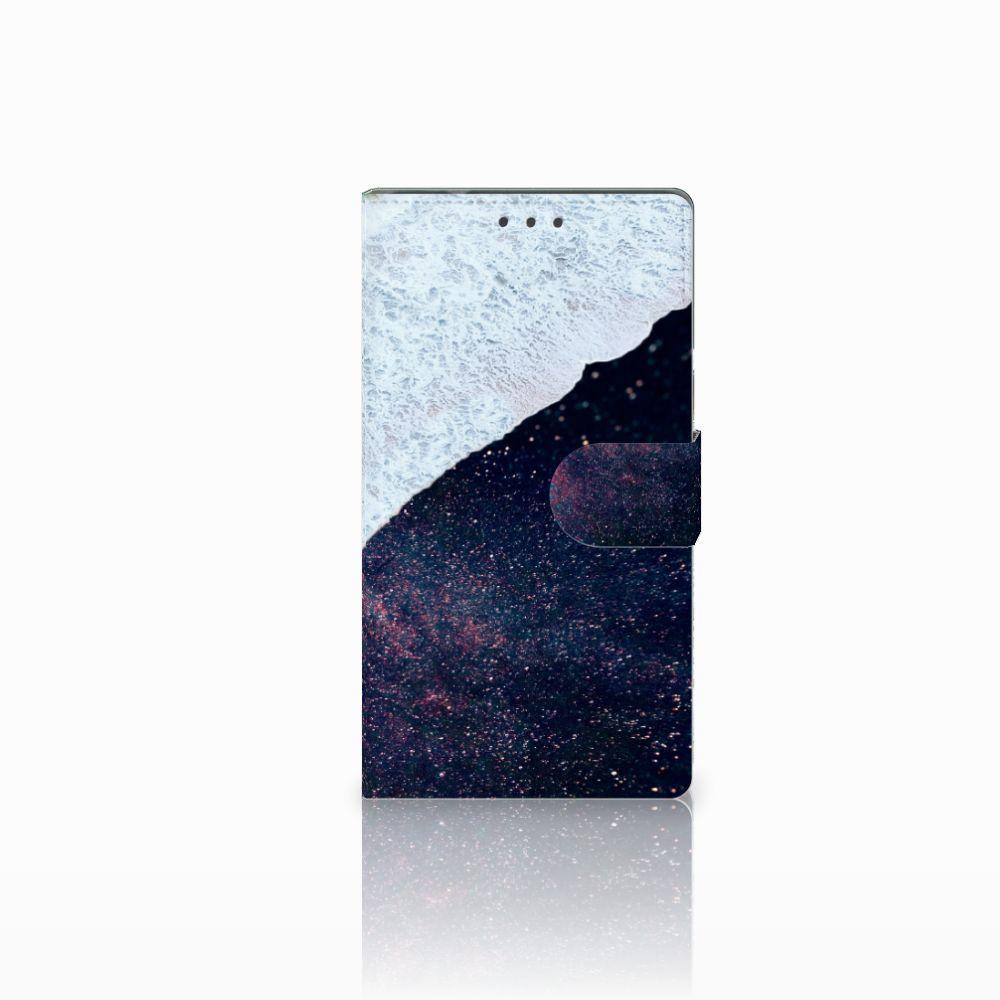 Samsung Galaxy Note 4 Boekhoesje Design Sea in Space