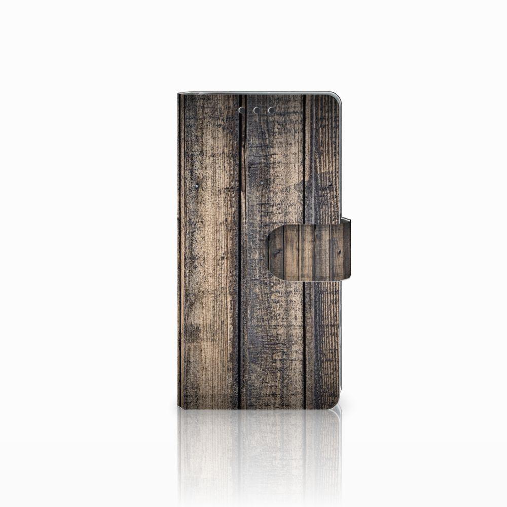 Sony Xperia X Performance Boekhoesje Design Steigerhout
