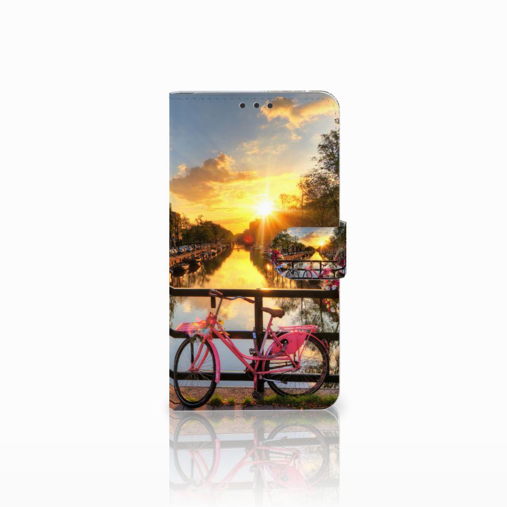 Microsoft Lumia 640 XL Uniek Boekhoesje Amsterdamse Grachten