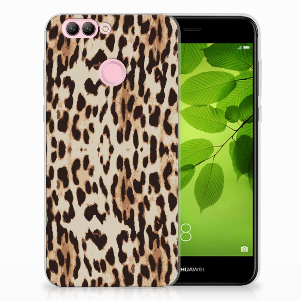 Huawei Nova 2 Uniek TPU Hoesje Leopard