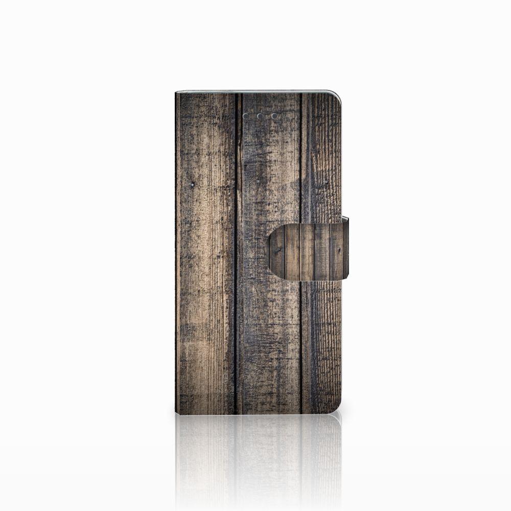 Huawei Ascend P8 Boekhoesje Design Steigerhout