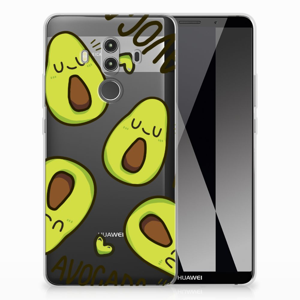 Huawei Mate 10 Pro Uniek TPU Hoesje Avocado Singing