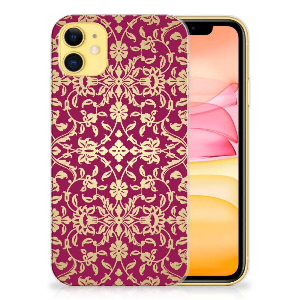 Siliconen Hoesje Apple iPhone 11 Barok Pink