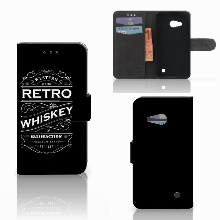 Microsoft Lumia 550 Book Cover Whiskey
