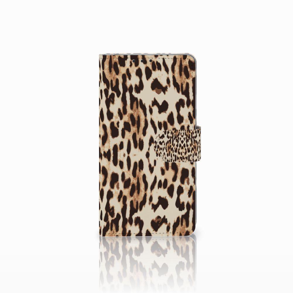 Sony Xperia Z1 Uniek Boekhoesje Leopard
