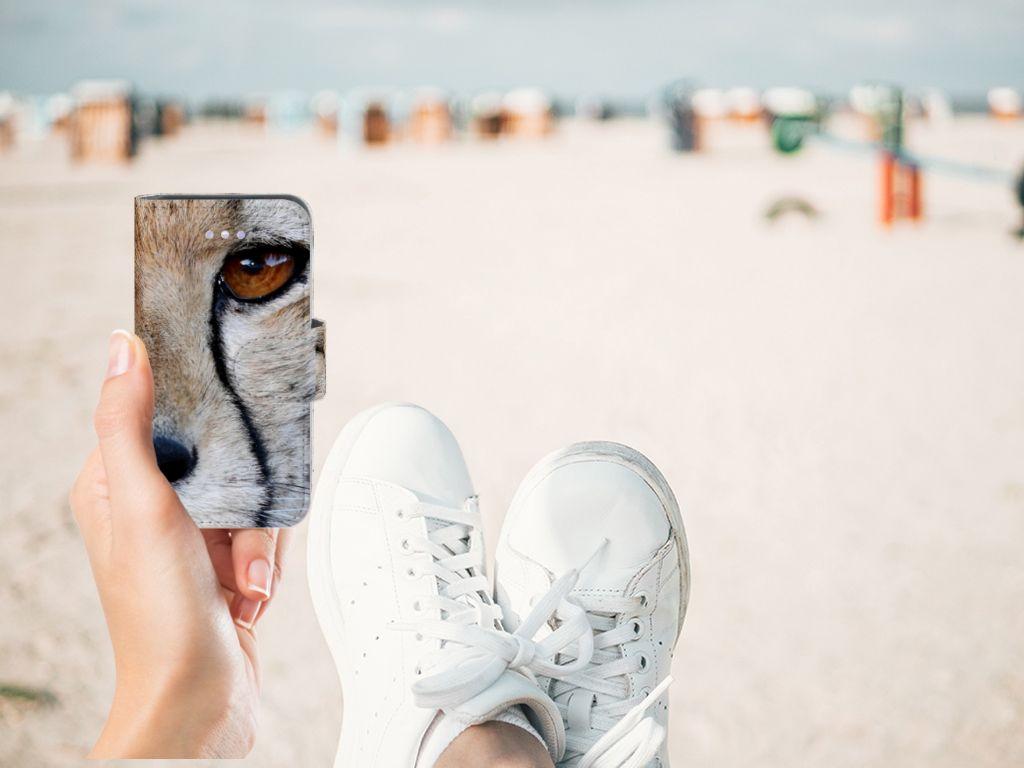 Apple iPhone 4 | 4S Telefoonhoesje met Pasjes Cheetah