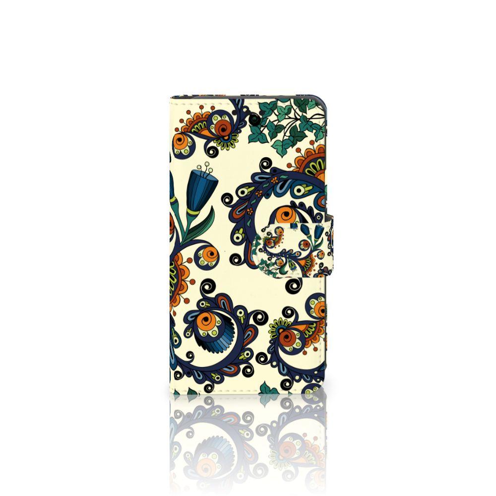 LG X Style Boekhoesje Design Barok Flower