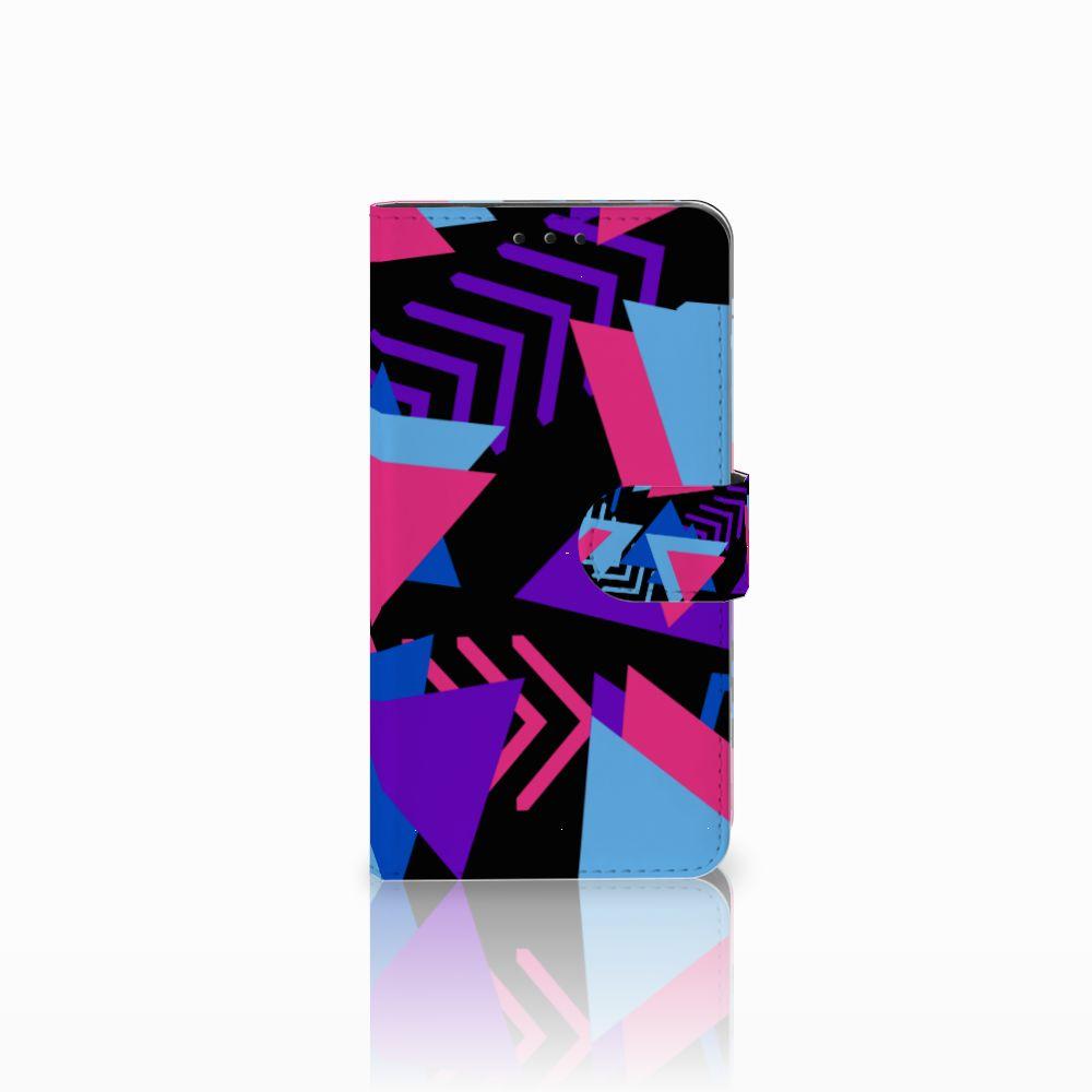 Huawei Honor 6X Bookcase Funky Triangle