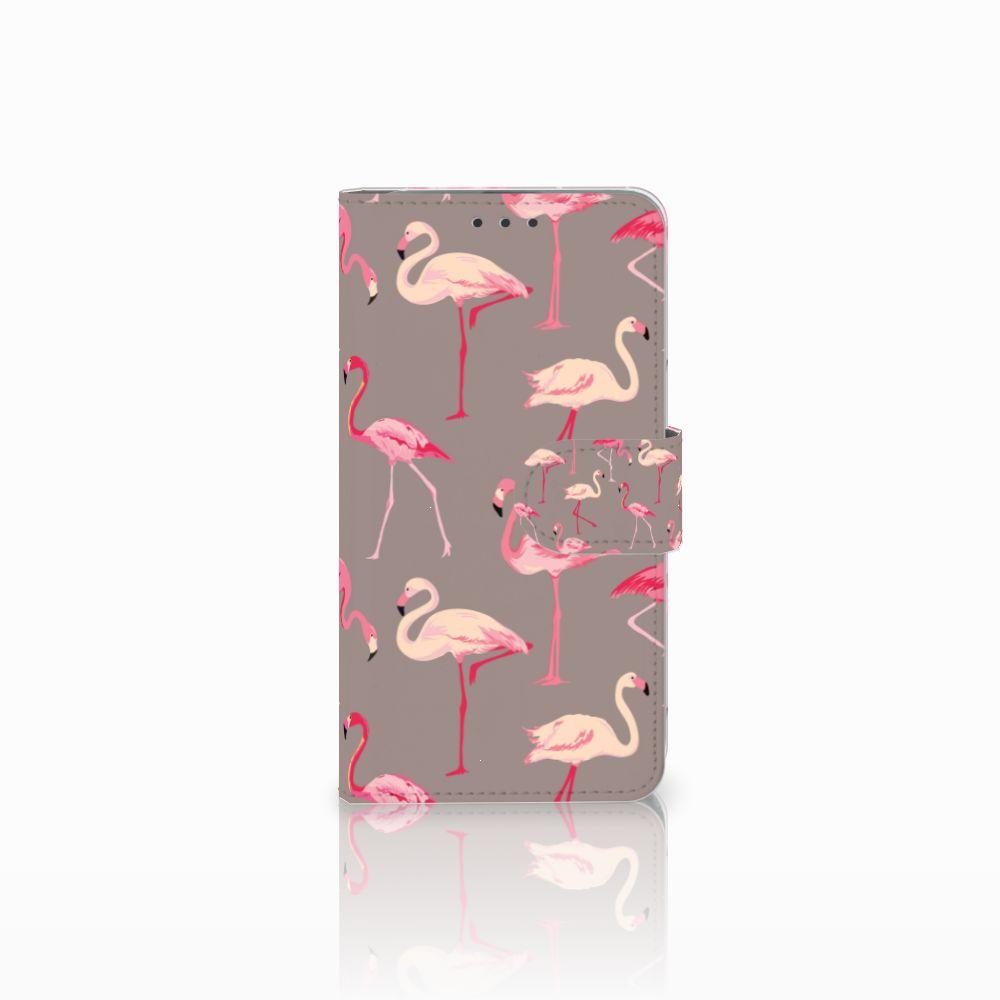 Microsoft Lumia 640 Uniek Boekhoesje Flamingo