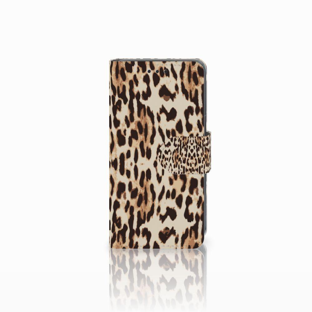 Nokia Lumia 630 Uniek Boekhoesje Leopard