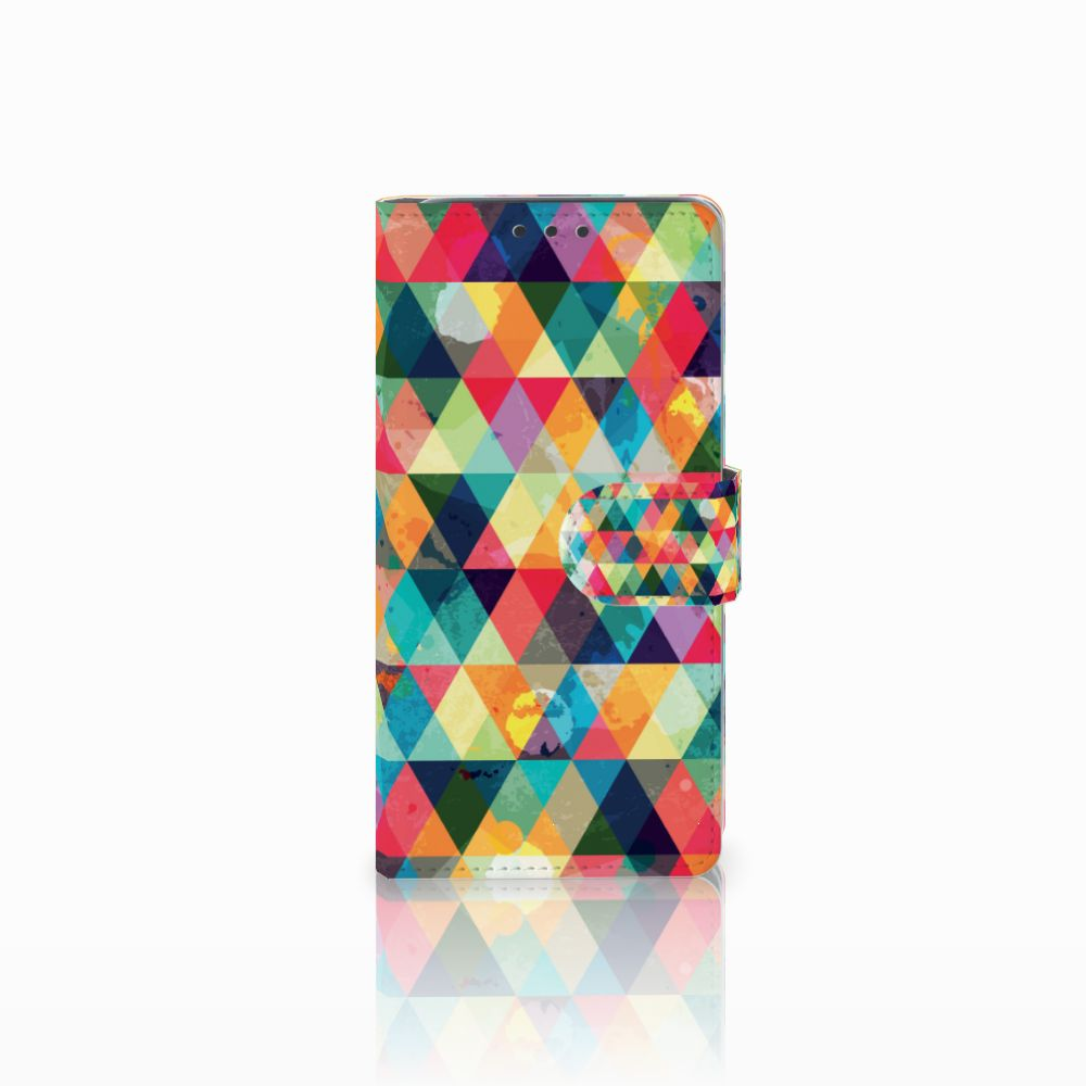 HTC Desire 626 | Desire 626s Uniek Boekhoesje Geruit
