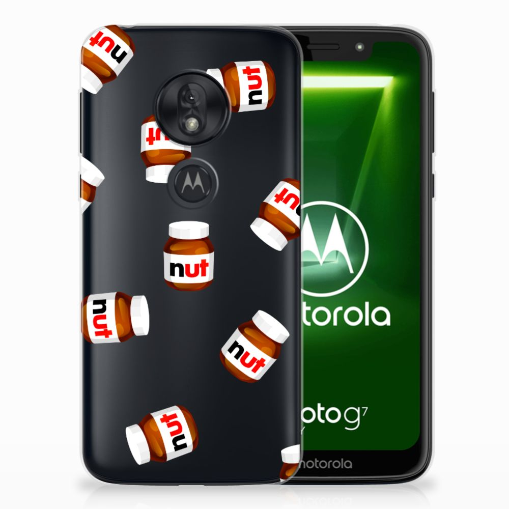 Motorola Moto G7 Play Siliconen Case Nut Jar