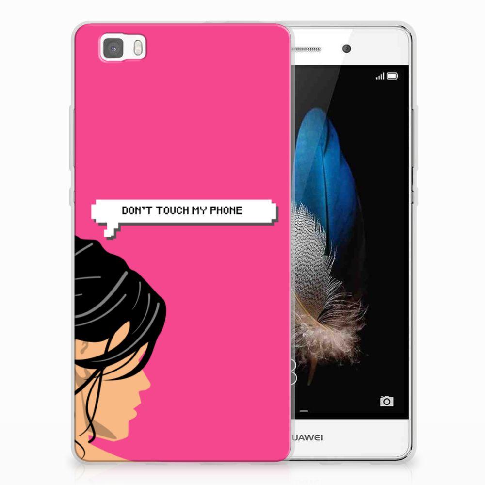 Huawei Ascend P8 Lite Uniek TPU Hoesje Woman DTMP