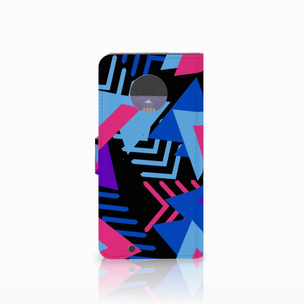 Motorola Moto G6 Bookcase Funky Triangle