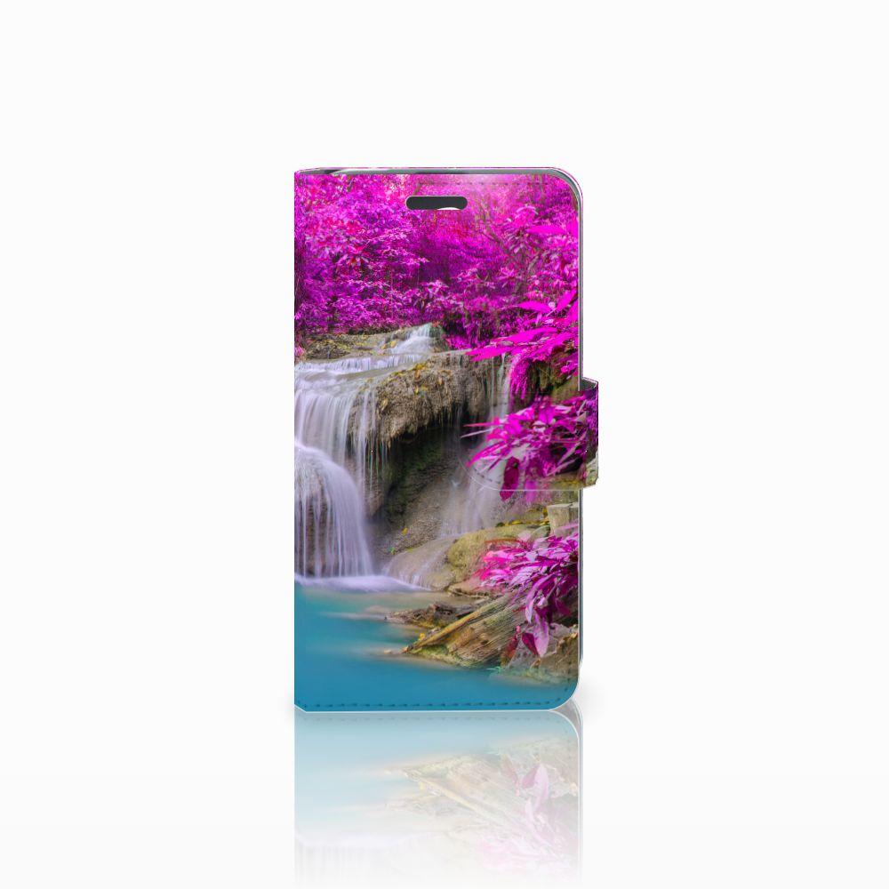 Acer Liquid Z520 Uniek Boekhoesje Waterval