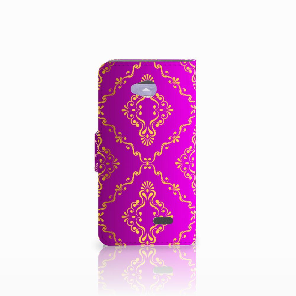 Wallet Case LG L70 Barok Roze