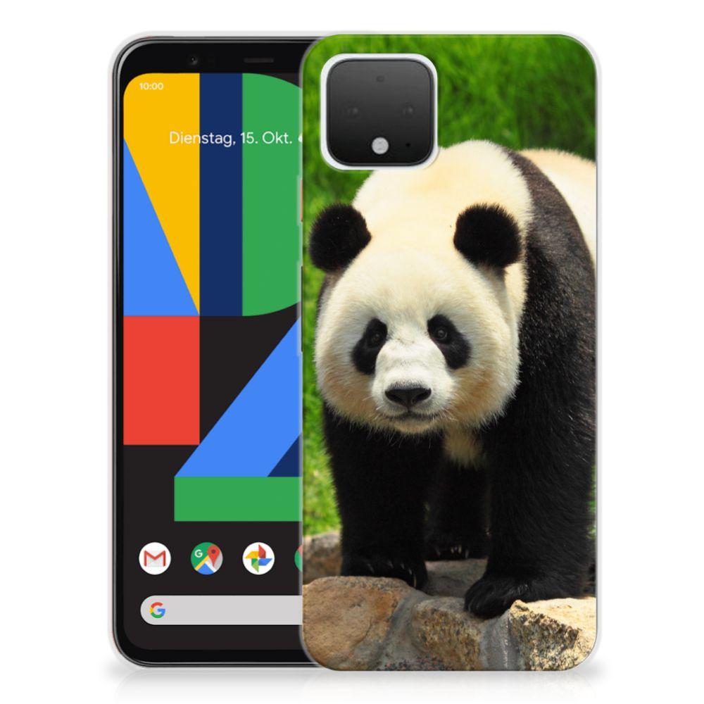 Google Pixel 4 TPU Hoesje Panda