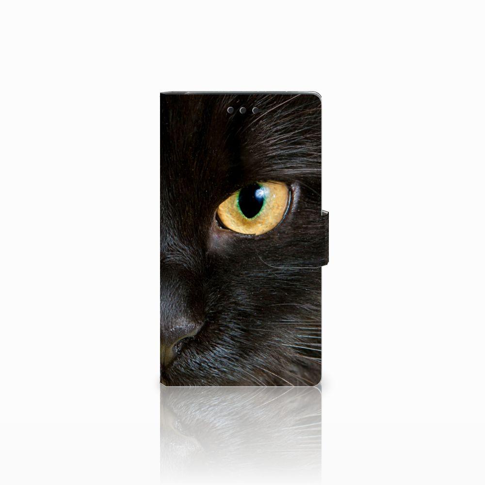Sony Xperia XZ2 Uniek Boekhoesje Zwarte Kat