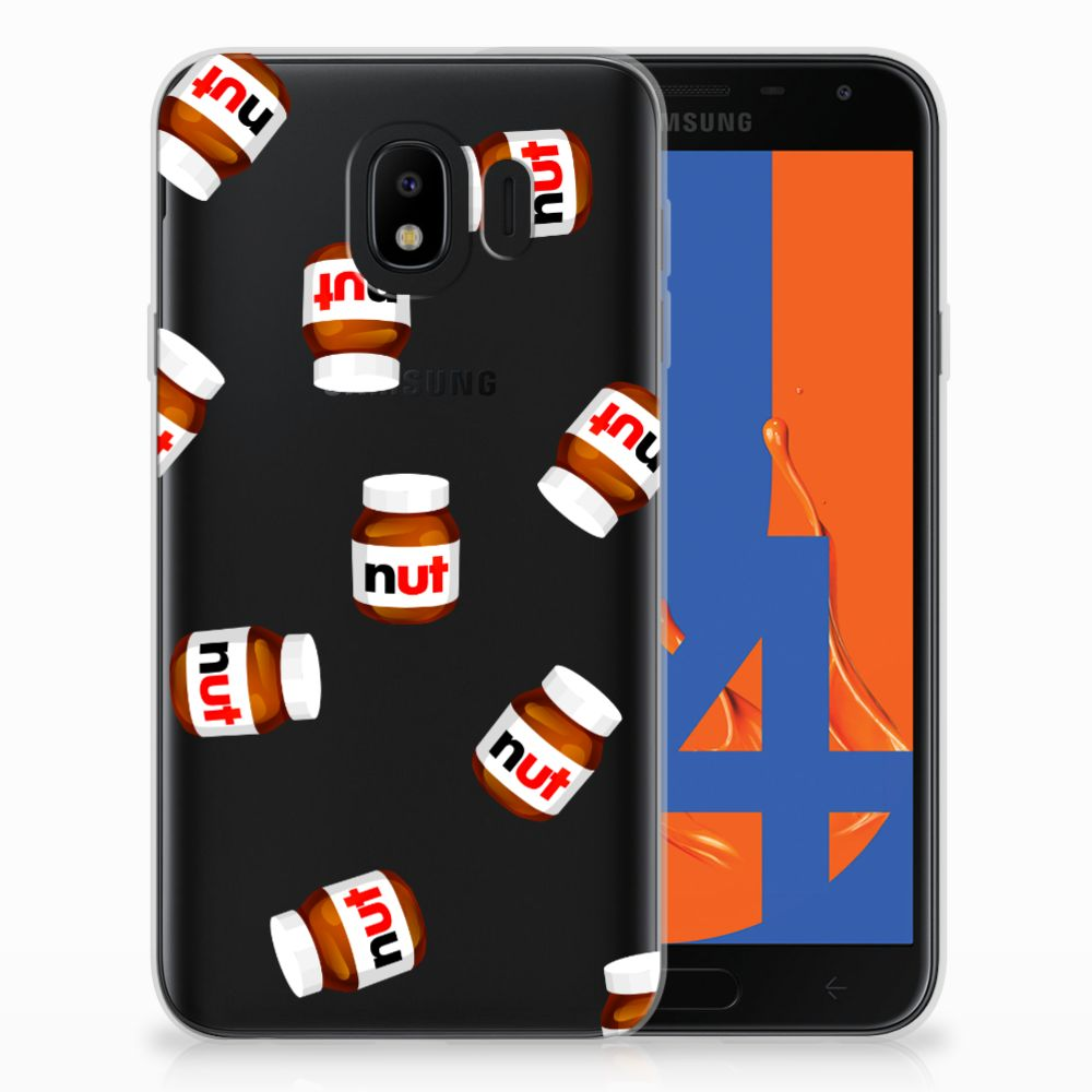 Samsung Galaxy J4 2018 Siliconen Case Nut Jar
